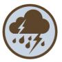 Cambridge Xtreme deszcz