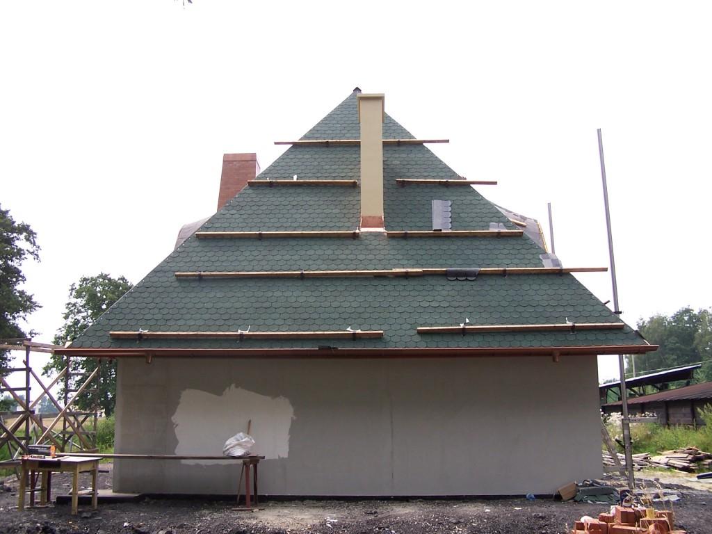 Wspornik dachowy - zastosowanie